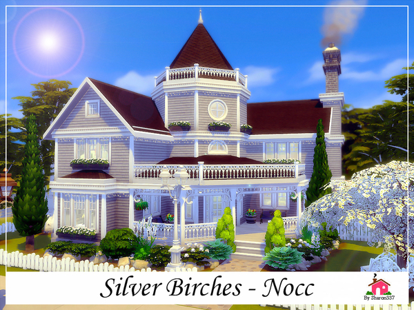 Silver Birches house by sharon337 at TSR image 77 Sims 4 Updates