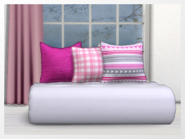 Folded Loveseat by Oldbox at All 4 Sims image 7718 Sims 4 Updates