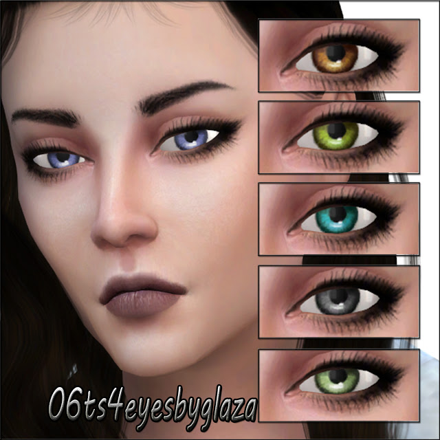 Eyes #06 at All by Glaza image 776 Sims 4 Updates