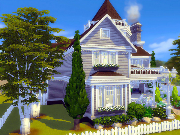 Silver Birches house by sharon337 at TSR image 78 Sims 4 Updates
