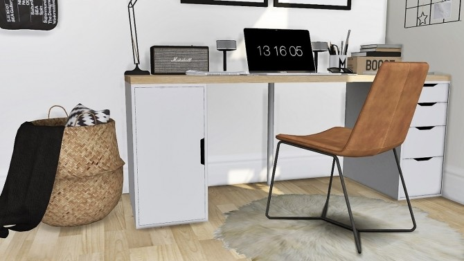 New office set at MXIMS image 7811 670x377 Sims 4 Updates