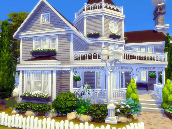 Silver Birches house by sharon337 at TSR image 79 Sims 4 Updates