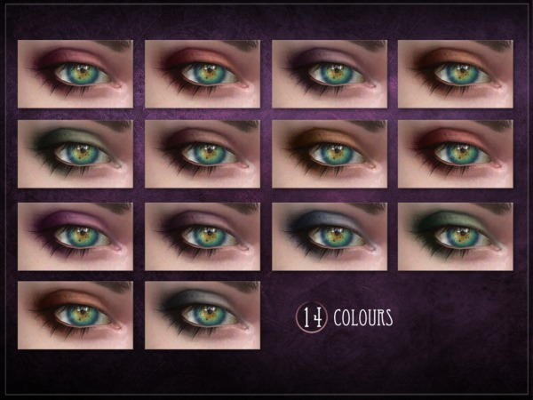 Sims 4 Fatal Eyeshadow by RemusSirion at TSR