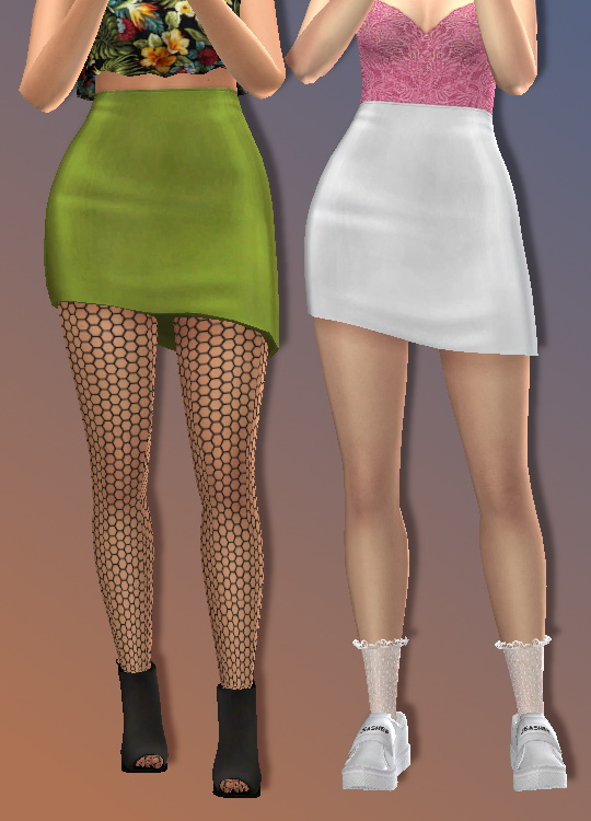 Sims 4 Mansae Skirt at Trillyke