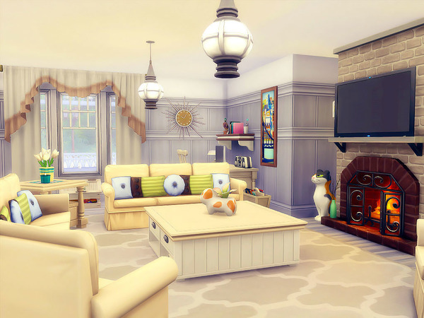 Silver Birches house by sharon337 at TSR image 80 Sims 4 Updates