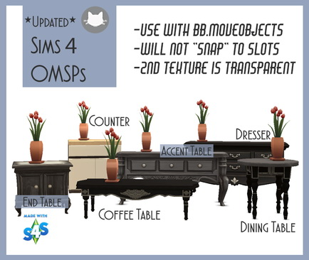 Sims 4 New & Updated OMSPs at Kitkat's Simporium