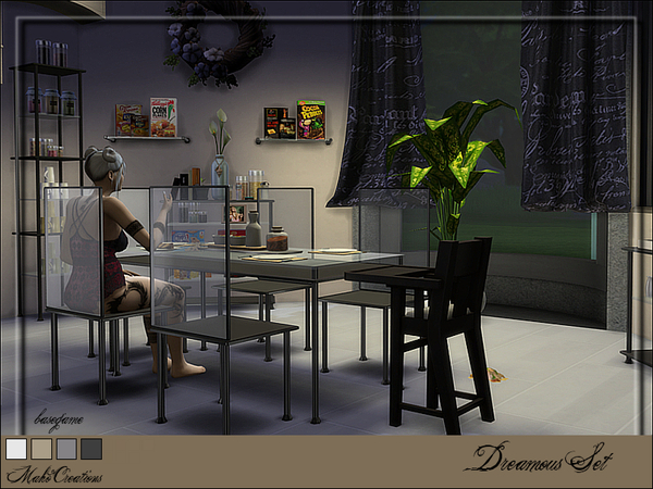 Sims 4 Dreamous Set by MahoCreations at TSR