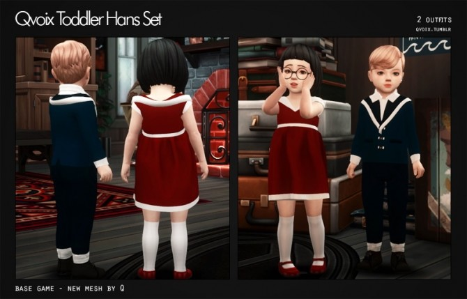 Sims 4 Hans Set T at qvoix – escaping reality