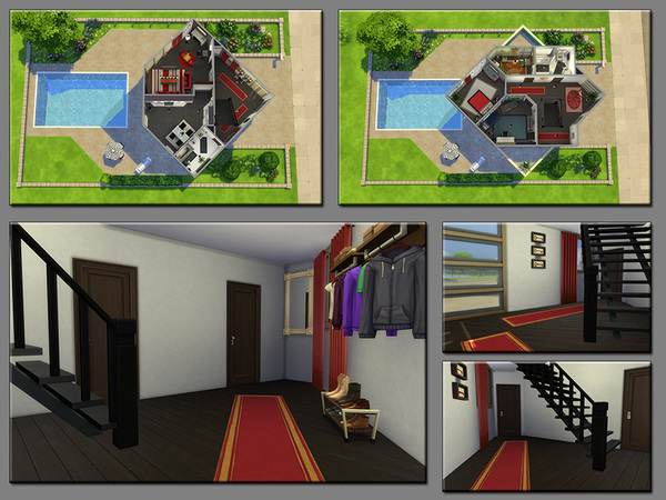 Sep out the Line family home by matomibotaki at TSR image 820 Sims 4 Updates