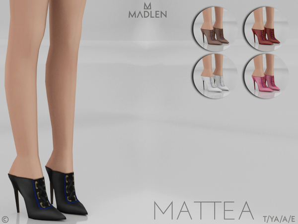 Madlen Mattea Shoes by MJ95 at TSR image 823 Sims 4 Updates