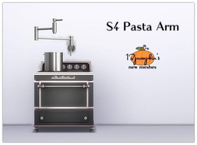 Sims 4 Pasta Arm Set at 13pumpkin31