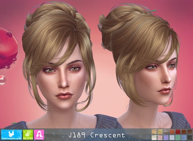 J189 Crescent hair (P) at Newsea Sims 4 image 8419 670x491 Sims 4 Updates
