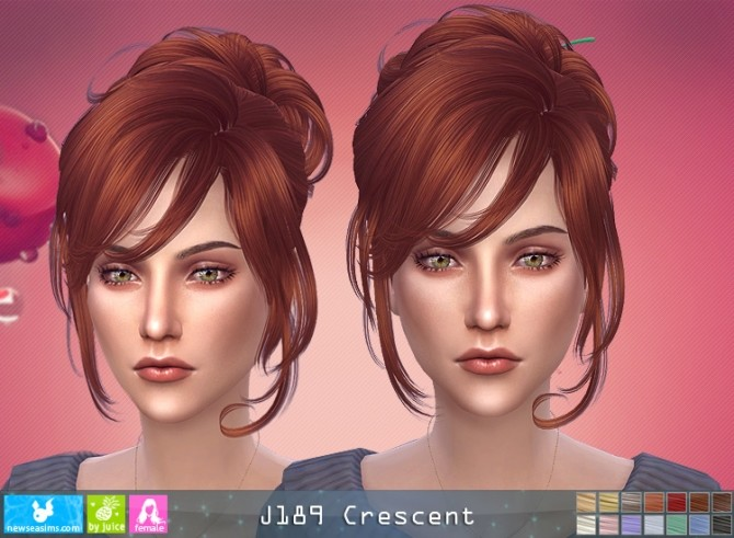 J189 Crescent hair (P) at Newsea Sims 4 image 8519 670x491 Sims 4 Updates