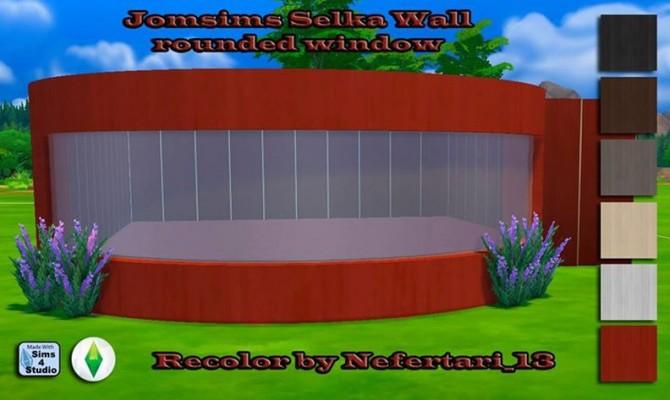Sims 4 Jomsimss Selka Wall Recolors at Nefertari 13