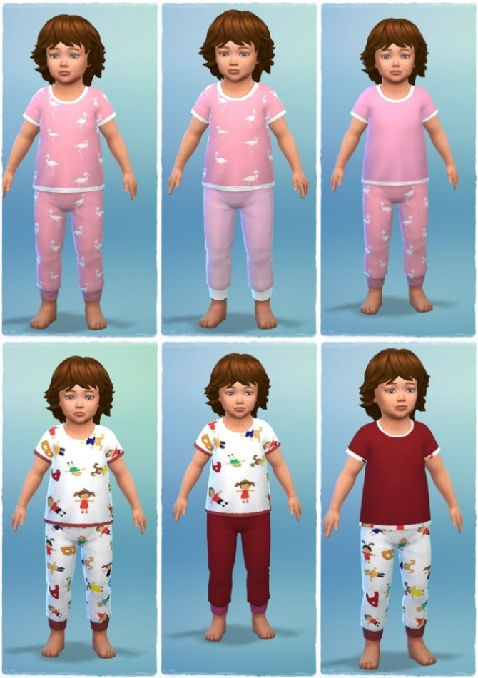 Sleep Pants & Shirts T at Birksches Sims Blog image 854 670x950 Sims 4 Updates