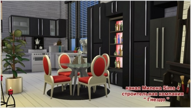 Dream apartment at Sims by Mulena image 865 670x379 Sims 4 Updates