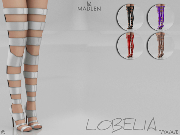 Madlen Lobelia Boots by MJ95 at TSR image 8914 Sims 4 Updates