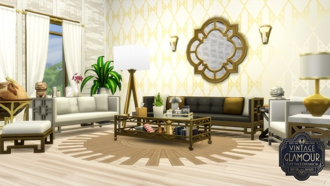 Sims 4 Vintage Glamour Addons at Simsational Designs