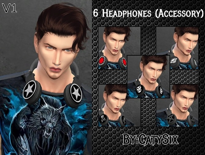 Headphones V1 at CatySix image 892 670x508 Sims 4 Updates