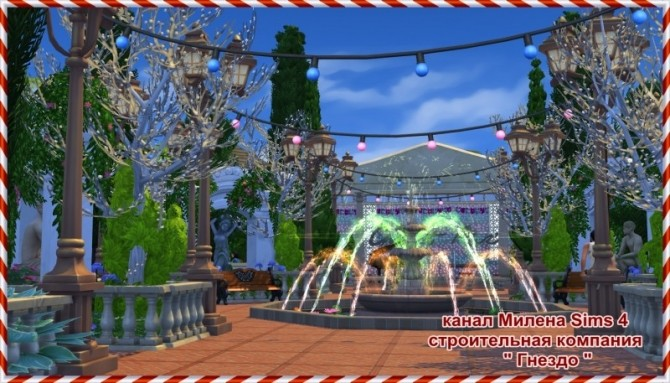 The Magic Garden Park at Sims by Mulena image 895 670x383 Sims 4 Updates