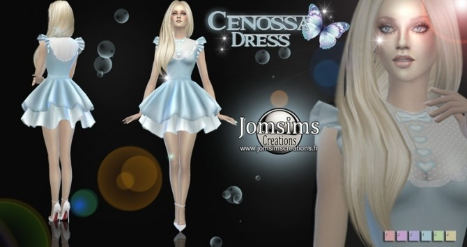 Cenossa dress at Jomsims Creations image 9010 670x355 Sims 4 Updates