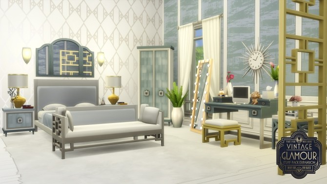 Vintage Glamour Addons at Simsational Designs image 9016 670x377 Sims 4 Updates