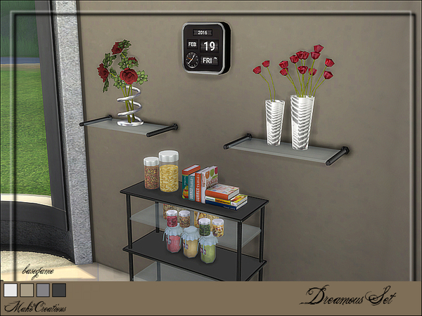 Dreamous Set by MahoCreations at TSR image 9102 Sims 4 Updates