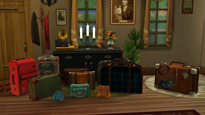 Luggage and Handbags at Josie Simblr » Sims 4 Updates