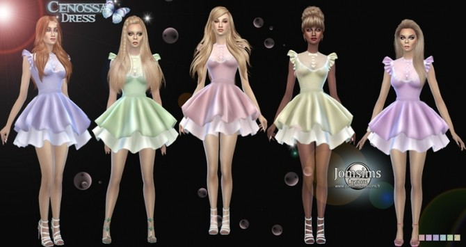 Cenossa dress at Jomsims Creations image 9115 670x355 Sims 4 Updates