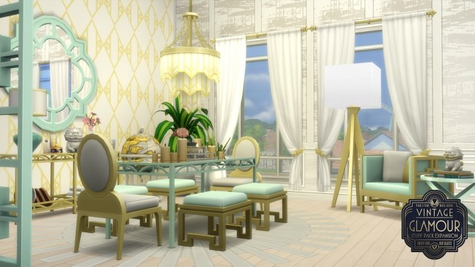 Vintage Glamour Addons at Simsational Designs image 9122 670x377 Sims 4 Updates