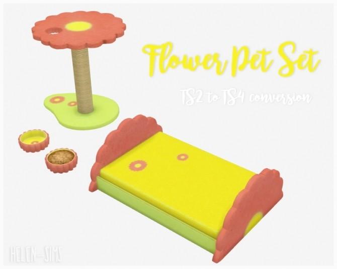 Flower Pet Set at Helen Sims image 921 670x536 Sims 4 Updates