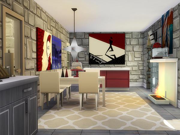 Sims 4 Doris house by dasie2 at TSR