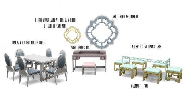 Vintage Glamour Addons at Simsational Designs image 9317 670x377 Sims 4 Updates