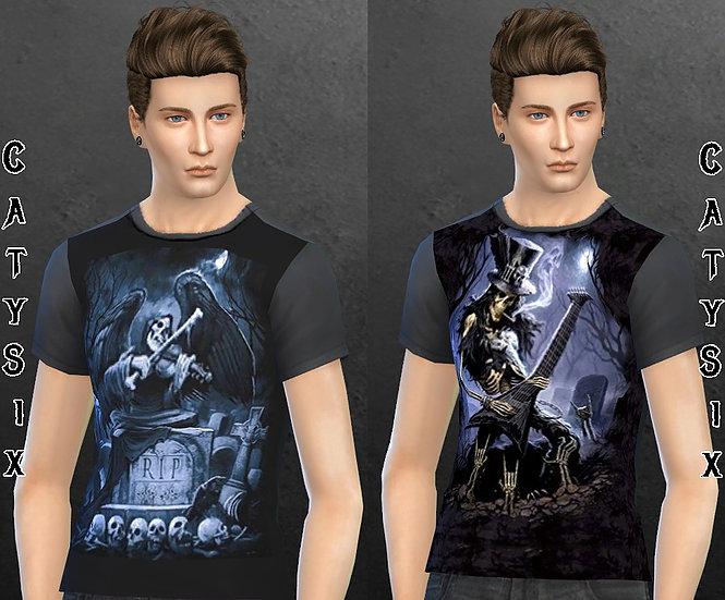 Werewolf & Misc T shirts at CatySix image 932 Sims 4 Updates