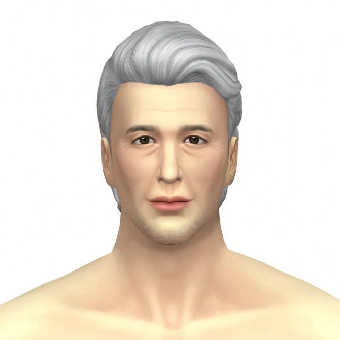 GP03 Slick back wavy hair edit at Rusty Nail image 943 670x670 Sims 4 Updates