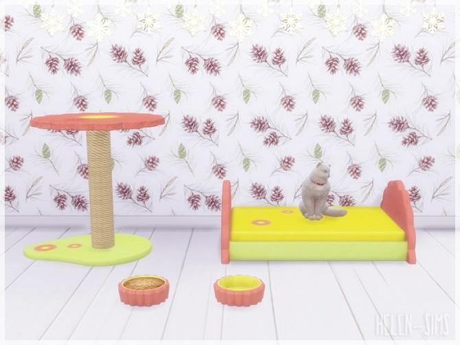 Flower Pet Set at Helen Sims image 951 670x503 Sims 4 Updates
