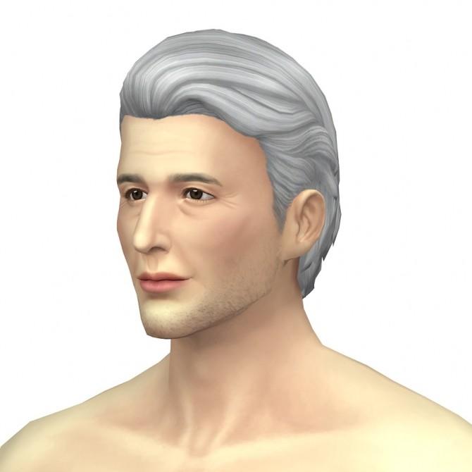 GP03 Slick back wavy hair edit at Rusty Nail image 954 670x670 Sims 4 Updates