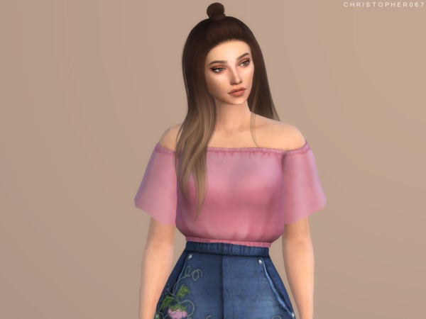 Temptress Top by Christopher067 at TSR image 960 Sims 4 Updates