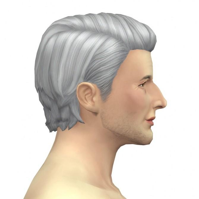 GP03 Slick back wavy hair edit at Rusty Nail image 963 670x670 Sims 4 Updates