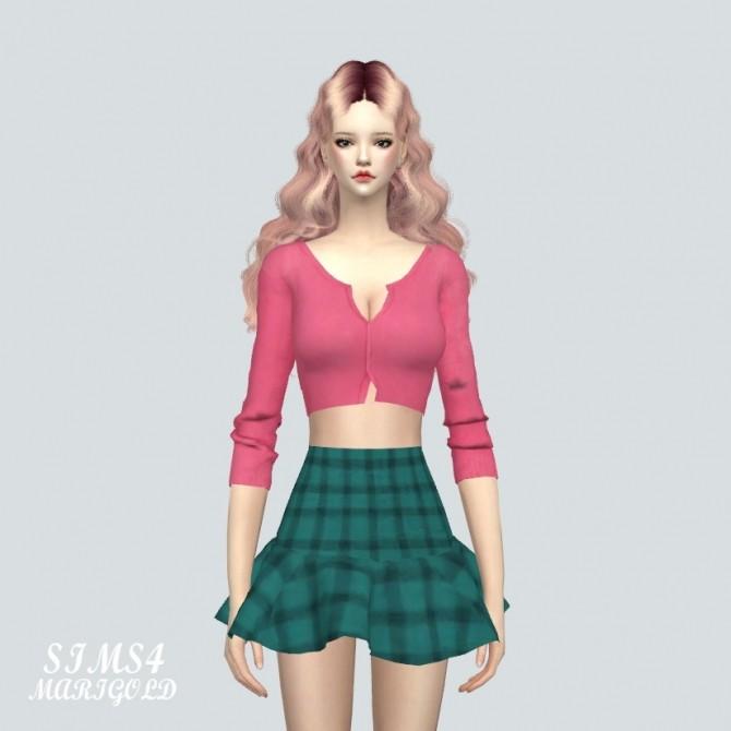 Crop Cardigan at Marigold image 964 670x670 Sims 4 Updates