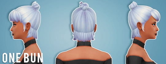 Recolours of Moon Craters Parahoy hair by thalabee at SimsWorkshop image 967 Sims 4 Updates