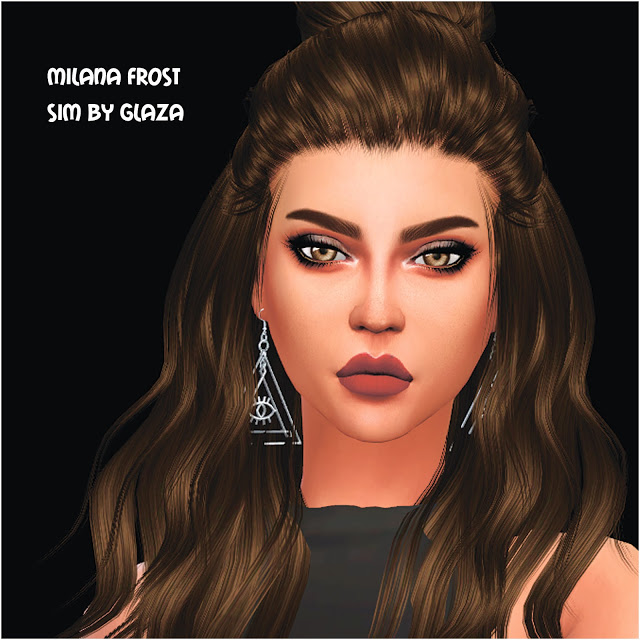 MILANA FROST at All by Glaza image 1009 Sims 4 Updates