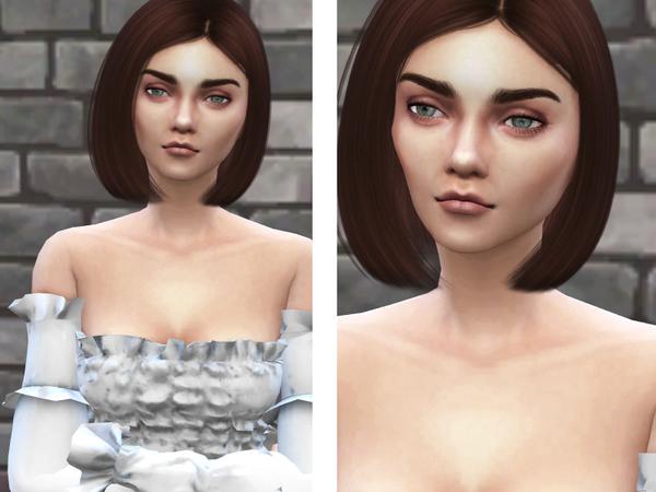 Sims 4 Arya Stark by koalas1234 at TSR
