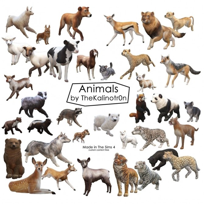 Animals at Kalino image 10110 670x670 Sims 4 Updates