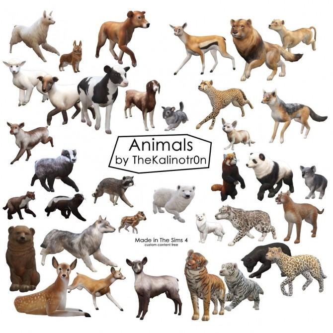 Sims 4 Animals at Kalino