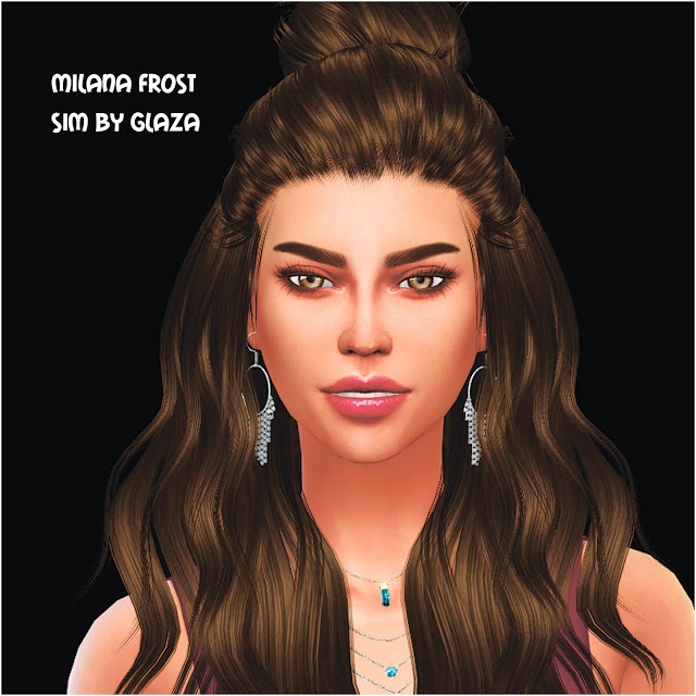 MILANA FROST at All by Glaza image 10113 Sims 4 Updates