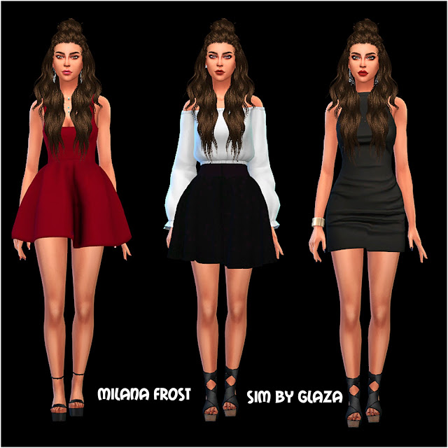 MILANA FROST at All by Glaza image 10210 Sims 4 Updates