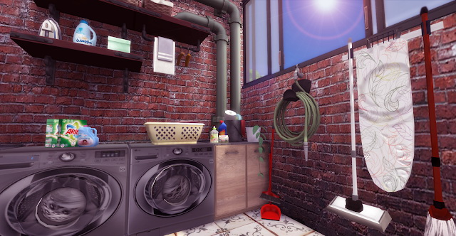 Sims 4 Industrial Kitchen at Lily Sims