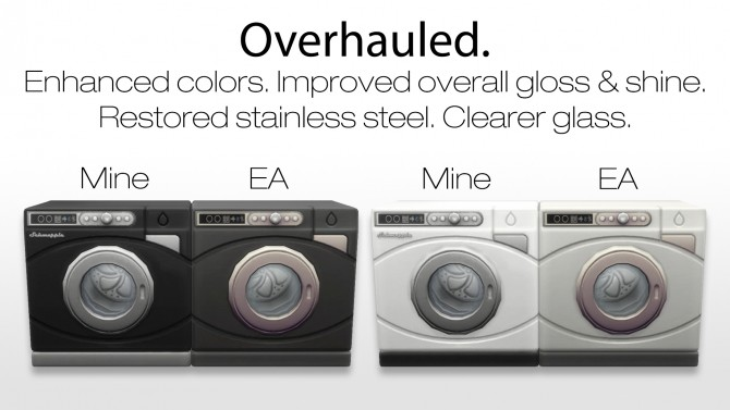 Washer & Dryer Overhaul by New Era at Mod The Sims image 10217 670x377 Sims 4 Updates
