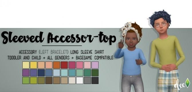 Cold Shoulder Shirt v2 at Deetron Sims » Sims 4 Updates